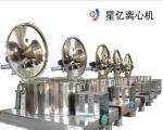 Automatic scraper centrifuge
